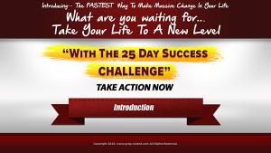 25 day success challenge