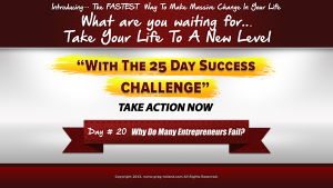 day 20 of the 25 day success challenge