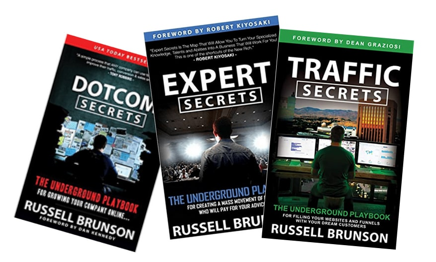 Have you read Russell's Brunson's bestselling books?