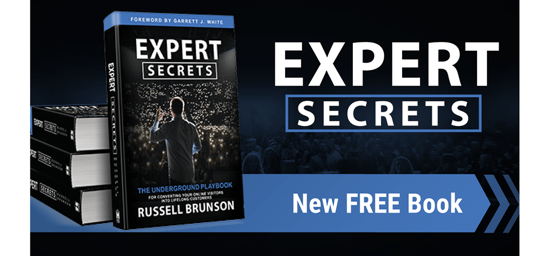 "I just ordered my new copy of ""Expert Secrets"""