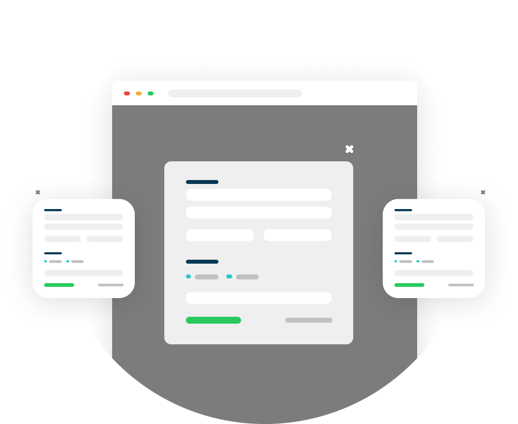 Deploy one-click upsell funnels